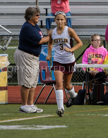 Governor Mifflin vs Conestoga Valley  Field Hockey 9-26-15